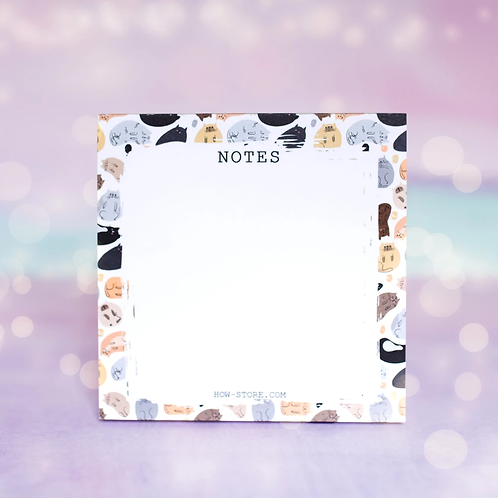 Cats Notes Notepad