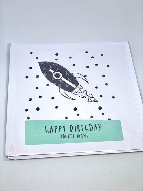 Happy Birthday- Rocket Man