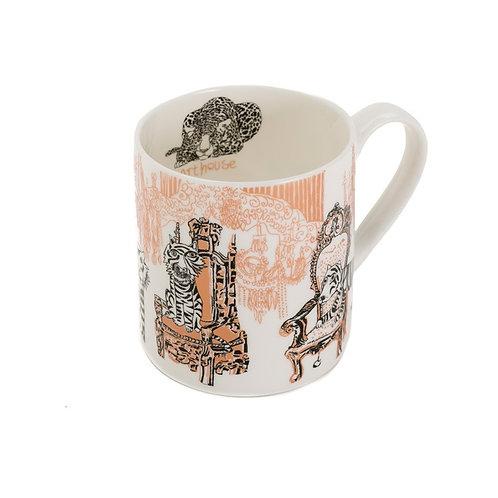 Opulent Tiger Bone China Mug