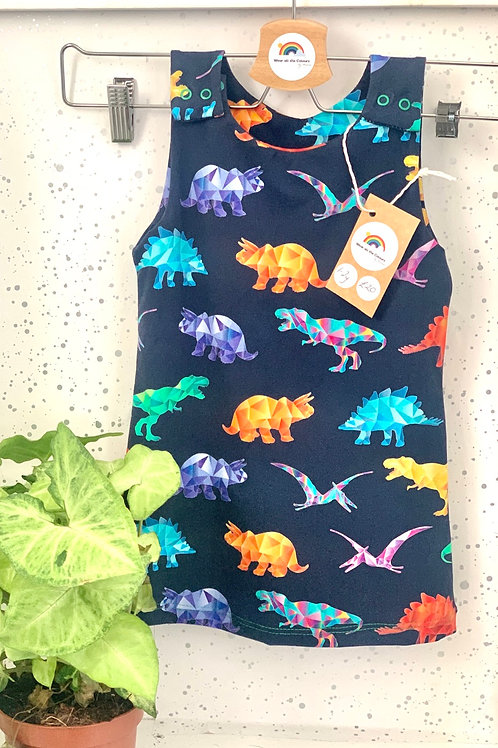 Kids Geo Dino Dress