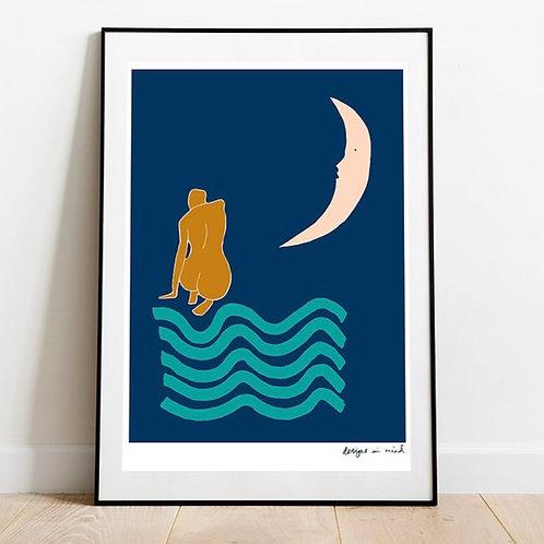 A3 Print- Moonlight