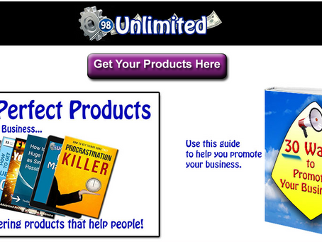98unlimited Review. Passive income opportunities.