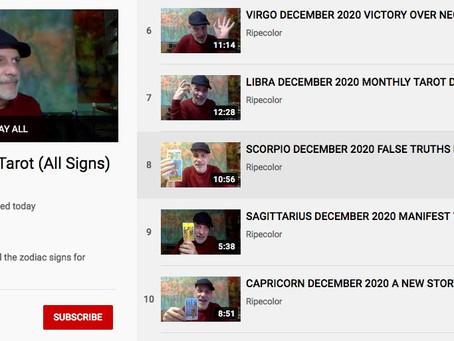 December Tarot (All Signs) - Ripecolor