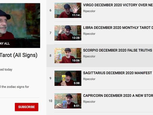 Ripecolor Tarot for All Signs: December 2020