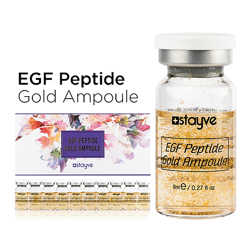 Stayve EGF - Gold Peptite Ampül Serum TEKLİ FLAKON 8 ML