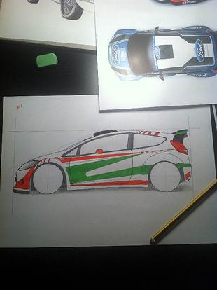 Stanced Car Art