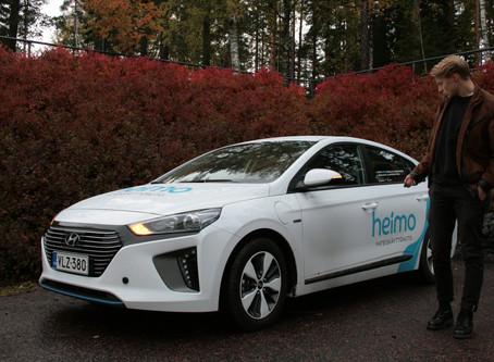 Nappaa Heimo-auto milloin vain käyttöösi, nyt hintaan 9,90€/h!