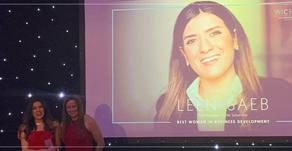 """"""" لين"""" أفضل نساء أوروبا في تطوير الأعمال"""