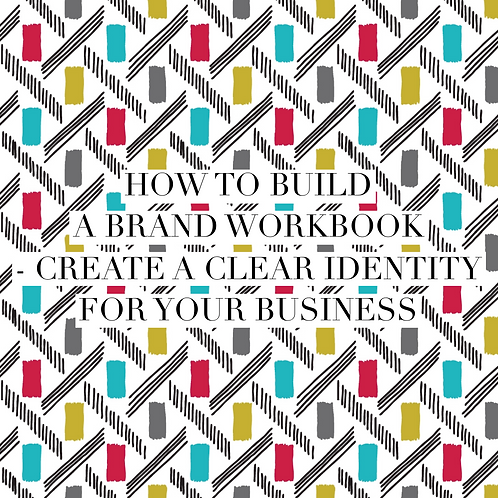 How to build a brand workbook