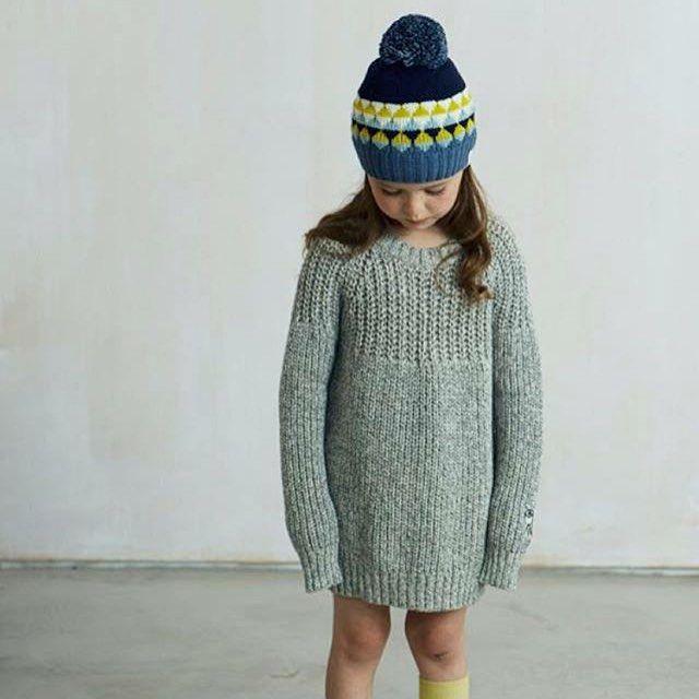 merino wool kids hats from Lala & Bea