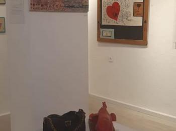 מבט מתוך התערוכה