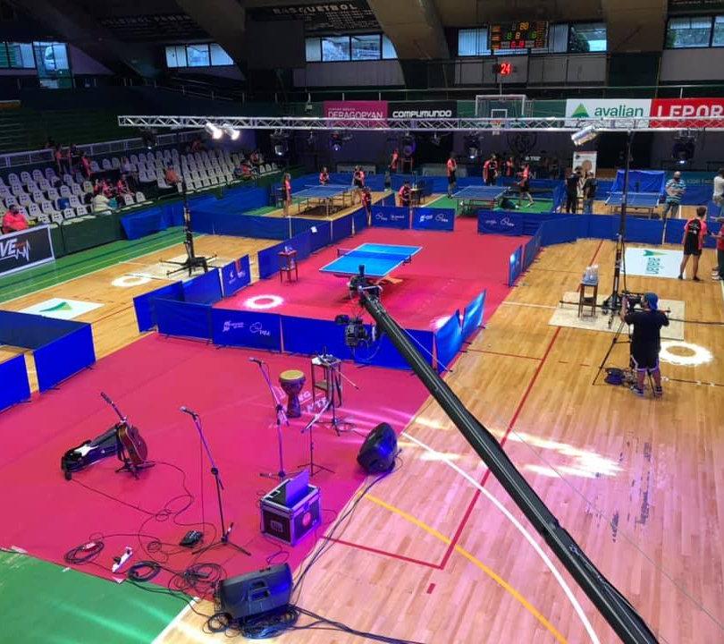 Festejo día mundial del tenis de mesa (Estadio Ferro)