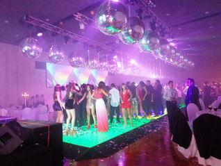 Pista de baile interactiva