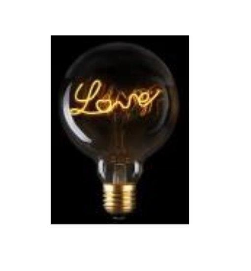 ONOPO Filament Deco Bulbs: OBFL125-Customized Wordings