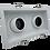 Thumbnail: ONOPO Recessed Adjustable Twin Head Spotlight: ORSL236