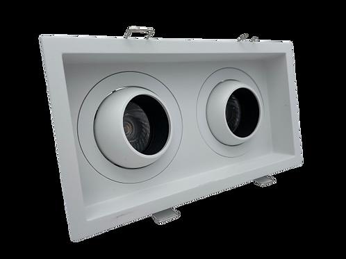 ONOPO Recessed Adjustable Twin Head Spotlight: ORSL236