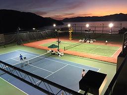 Golf Club Tennis Court