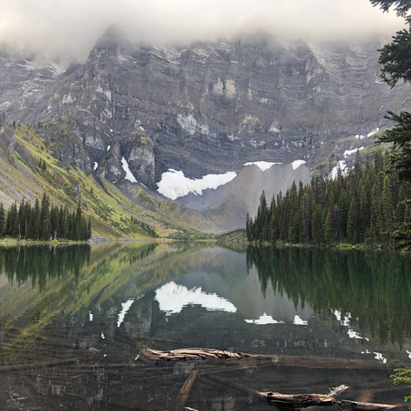 Rockies and lakes (2019, Mount Sarrail, Alberta)