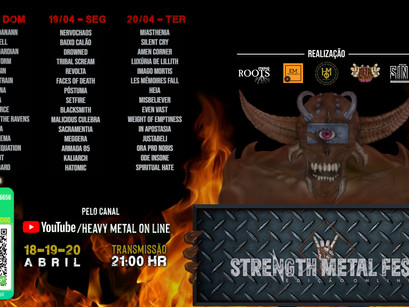 Strength Metal Fest: Online edition event takes place this weekend