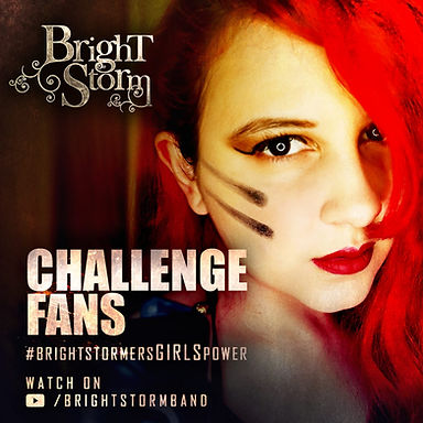 BRIGHTSTORM: Banda divulga challenge que as fans produziram