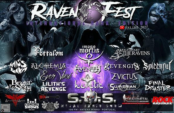 BRIGHTSTORM, EVEN VAST and REVENGIN confirmed at RAVEN FEST