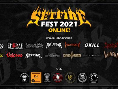 Setfire Fest: 6ª edição acontece de forma online em agosto