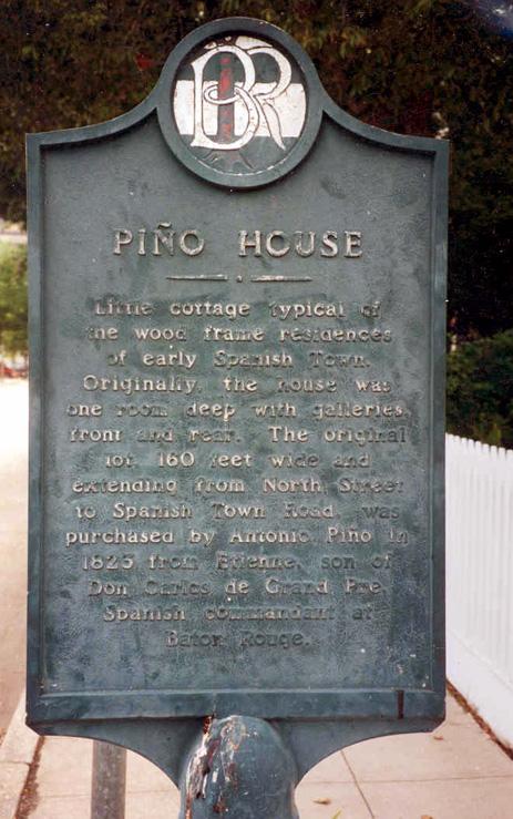 Pino House Marker