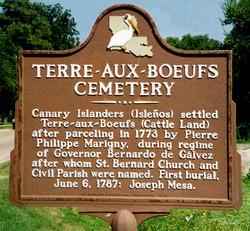 Terre-Aux-Boeufs Cemetery