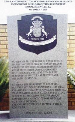 Donaldsonville Cemetery Marker