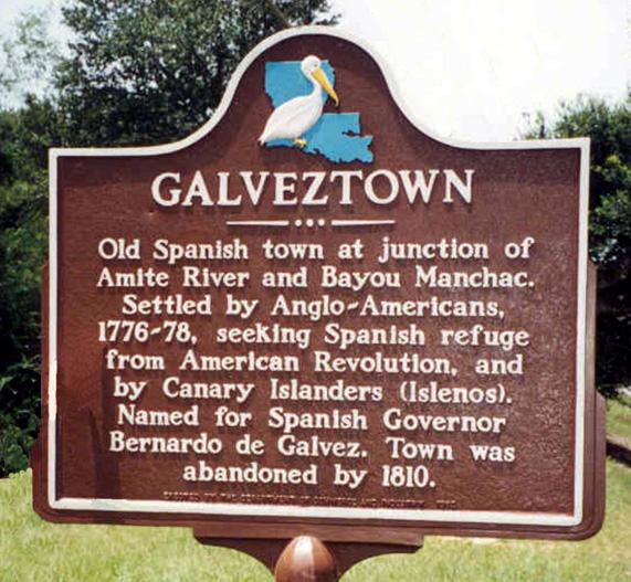 Galveztown Marker