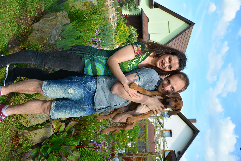 Benjamin und Anika mit Binah