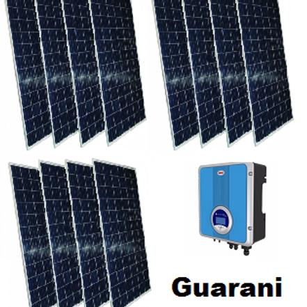 Guarani  -  540kWh/mês