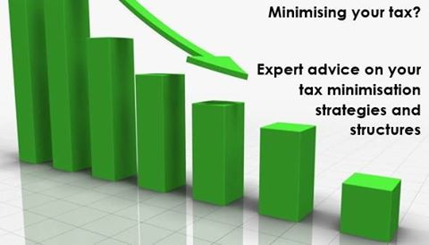 Tax minimisation strategies