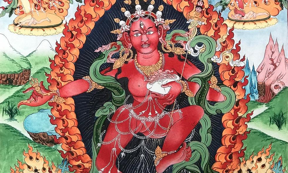Wisdom Dakini - Sangwa Yeshe Giclee Print