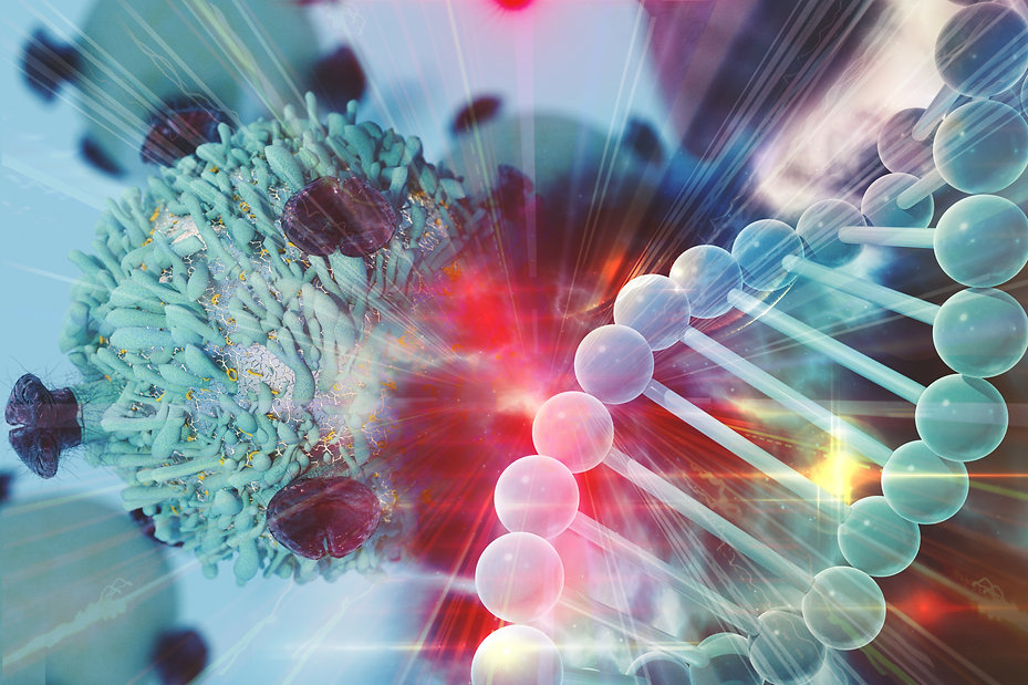 Gene Therapy for Cancer Treatment Concep