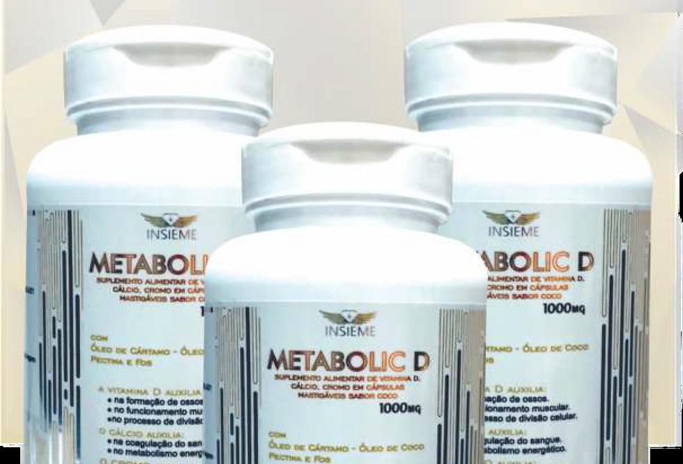 METABOLIC D Combo 3 produtos