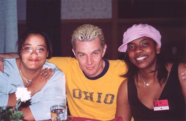 Marcella, Kahmeela and James Marsters