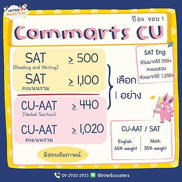 commarts chula 2021