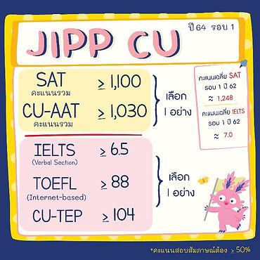 jipp chula requirements 2021