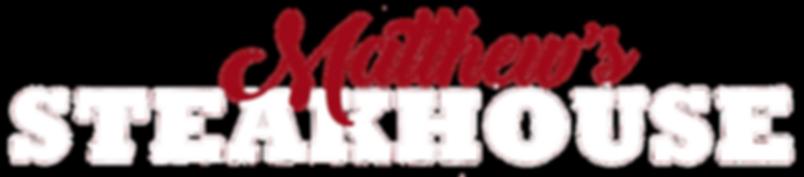 Matthew's Steakhouse Logo
