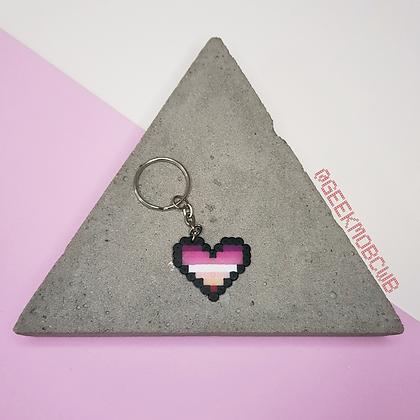 LGBTQIA+ | Coração Lesbica
