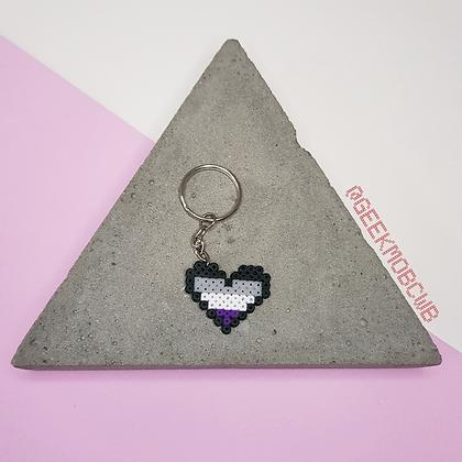 LGBTQIA+   Coração Assexual
