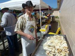 Bro. Joe Walker loves onions!!!