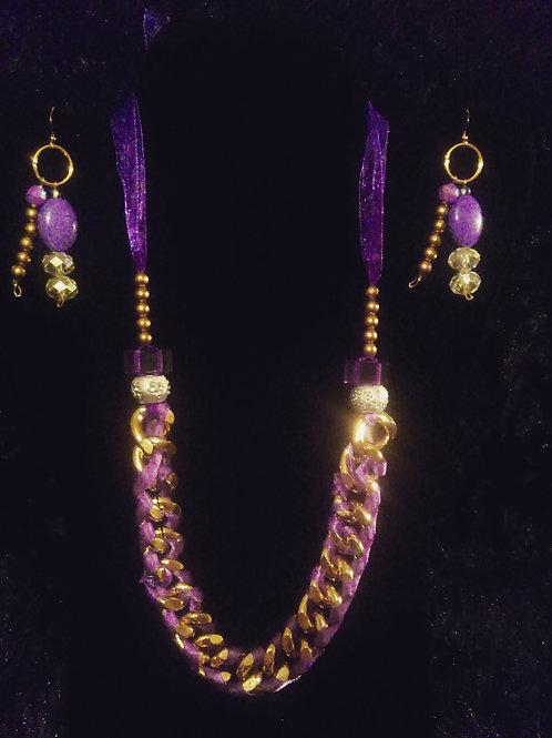 Gold Link PurpleLady