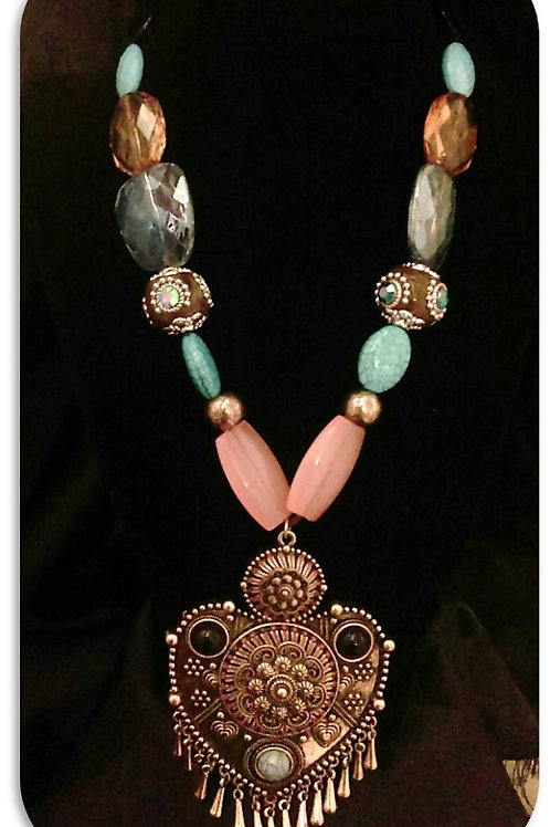 Tribal Heart Necklace