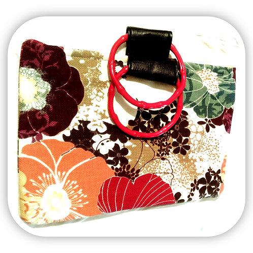 Spring Floral Tote Handbag