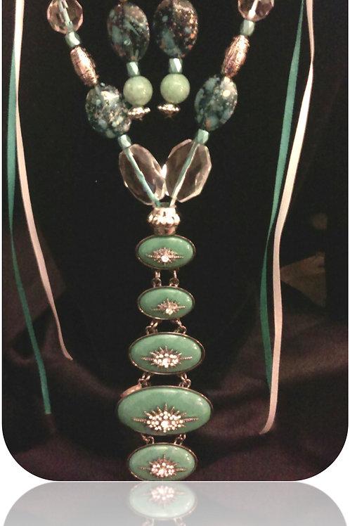 SOLD: Starburst Necklace Set