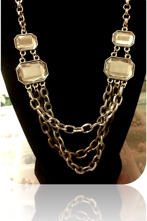 Fashion Necklace 3 Chains