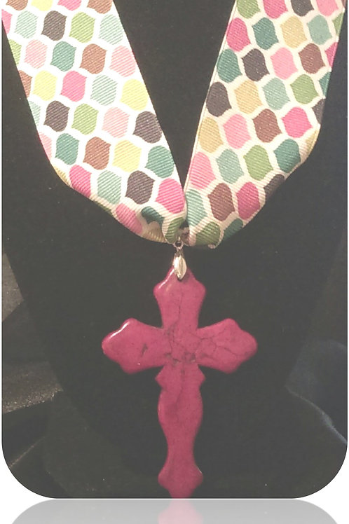 Spring Ribbon & Cross Two