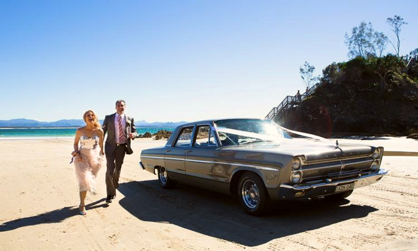 Byron Bay Wedding Car hire